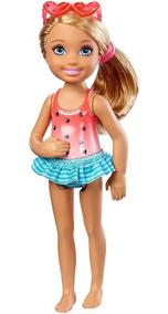 Boneca - Barbie - Familia Chelsea Club - Natacao