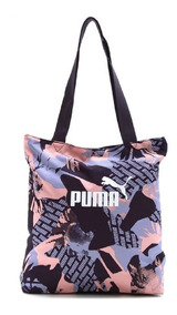 Bolsa Puma Academia Feminina Core Shopper Roxa Promoção!