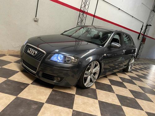 Audi A3 Tdi Sportback Automatico Cuero Techo Llantas Permuto