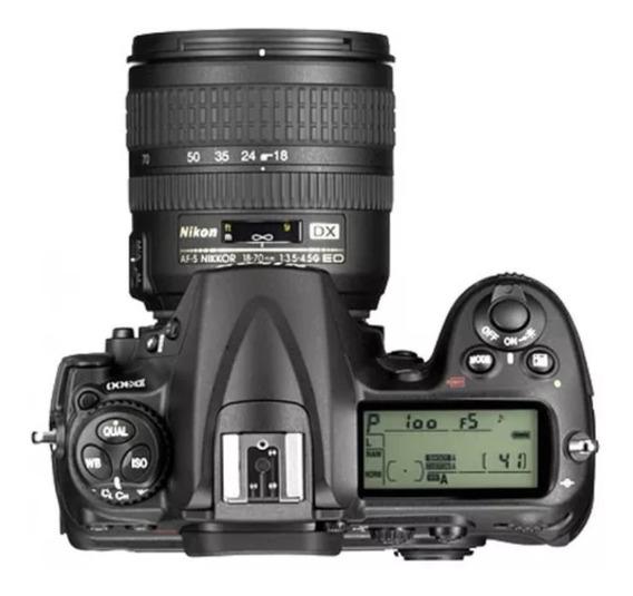 Vendo Uma Câmera Niko D90 So.ente O Corpo Sem A Lente Usada.