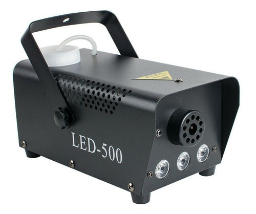 Máquina De Humo Con Luces Led 500w Dj Fiestas Eventos
