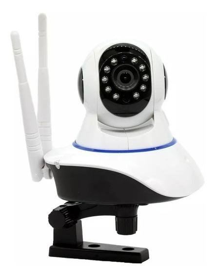 Camera Ip Drone Wifi 2 Antenas Onvif Hd Dvr 360° Segurança