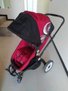 Carriola Infanti Lifestyle - 4 En 1 - Color Rojo. Semi-nueva
