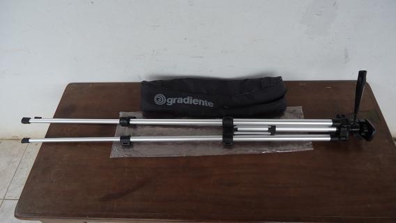 Tripé Telescópico Alumínio Gradiente Original Com Bolsa