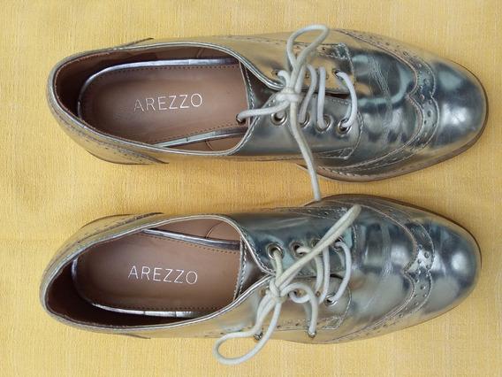 Sapato Feminino Arezzo Oxford Nro 35