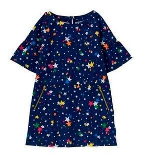 Vestido Corto Casual Niña