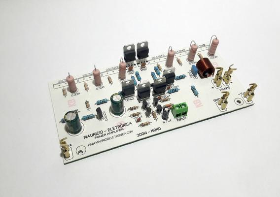 Placa Montada Amplificador Profissional 300w S/ Saidas