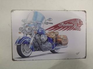 Placas Carteles Motociclismo Coleccionista Decoracion
