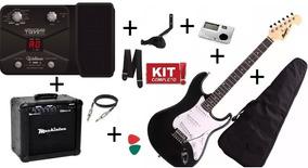 Kit Guitarra Memphis Mg 22 + Amplificador + Pedaleira