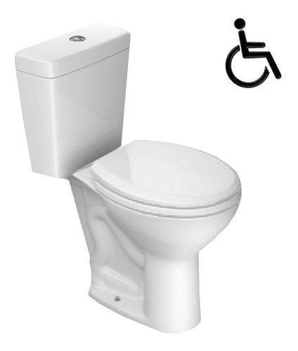 Inodoro Deca Izy Conforto Para Discapacitados Alto Dual