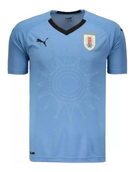 Camisa Puma Uruguai Home Jersey 2018-2019