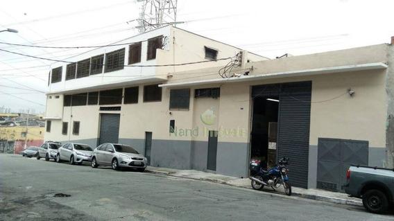 Galpão Comercial Para Locação, Vila Prudente, São Paulo. - Ga0008