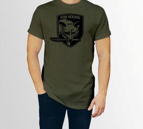 Playera Metal Gear Foxhound Hombre Caballero Con Envio P