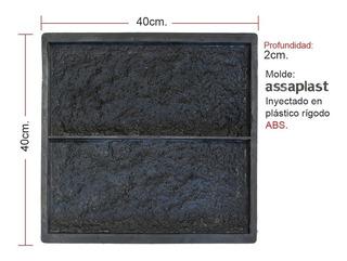 Molde Para Revestimientos De Yeso / Cemento