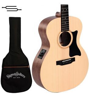 Guitarra Electroacustica Sigma Gme+ By Martin + Funda