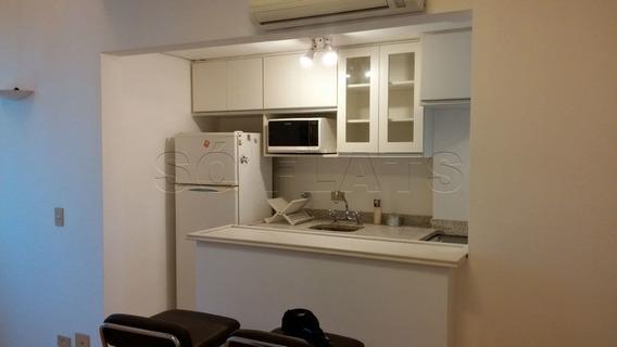 Apartamento Na Vila Olímpia 1 Dormitório 52m² - Sf25147