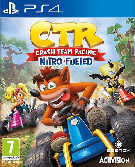 Ctr Crash Team Racing Nitro + Juegos Gratis Digital Ps4
