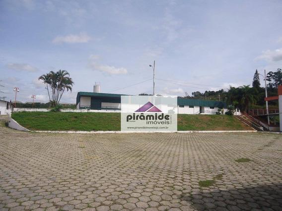 Galpão Para Alugar, 2300 M² Por R$ 25.000,00/mês - Putim - São José Dos Campos/sp - Ga0067