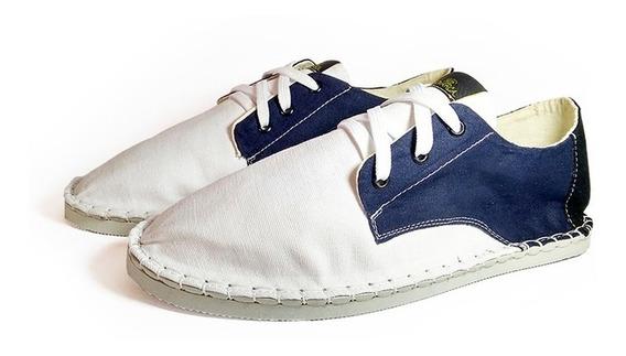 Tênis Alpargata Hoop Branco/azul/preto Monarca