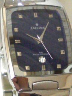 Reloj Junghans Cuarzo Calendario Cristal Sumerfible, Pulido