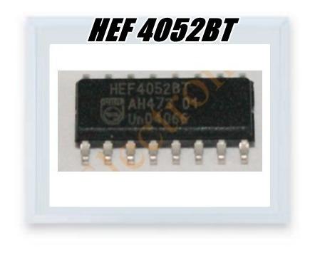 Ci Hef4052bt , Hef 4052bt Smd , Cd4052bt Smd 16 Pinos 10pçs