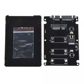 Case Adaptador Msata Mini Pci-e Ssd P/ Sata 2.5 Note Ou Pc