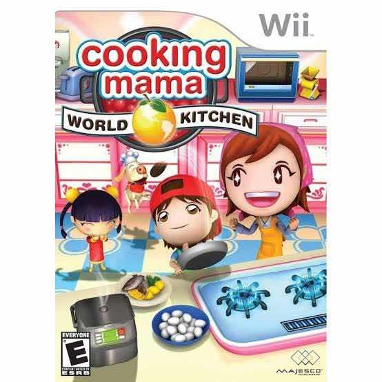 Cooking Mama: World Kitchen Wii Lacrado Novo