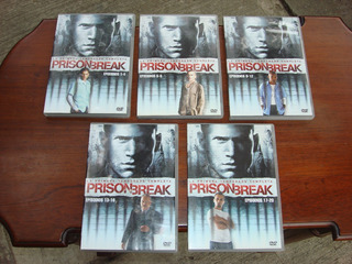 Prison Break Temporada 1 (2005) 5 Dvds, Serie, Bluray, Vhs