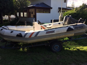Semirrigido Fishure Motor Evindrude 35 Hp