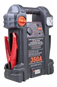 Auxiliar Partida 350a Amp + Compressor + Usb + Led B&d Js350
