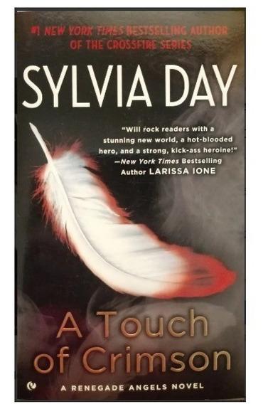 Livro A Touch Of Crimson - Sylvia Day