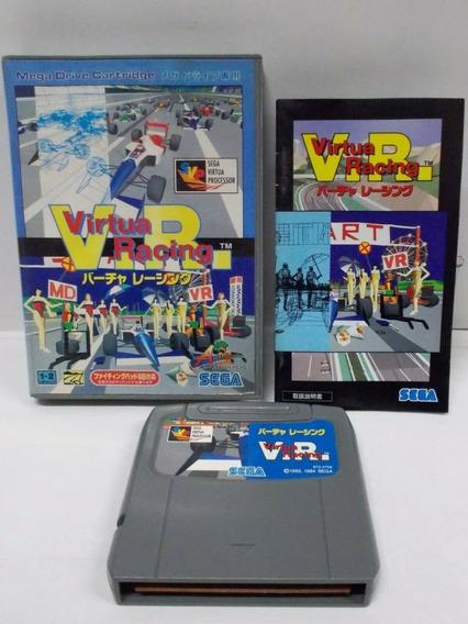 Virtua Racing Para Mega Drive - Original