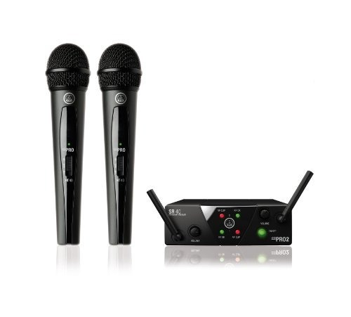 Sistema De Audio Akg Pro Audio Wms40 Mini2 Sistema De Micróf