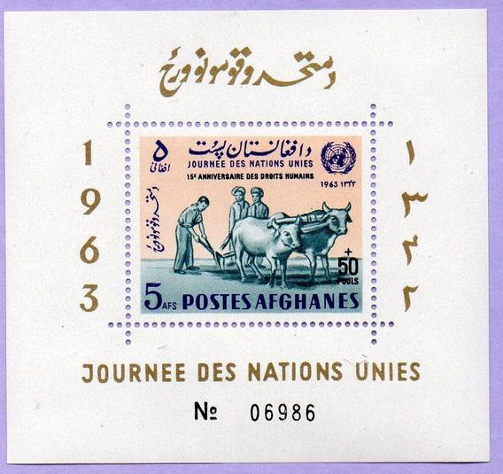 Hojita Block N° 41c De Afganistán