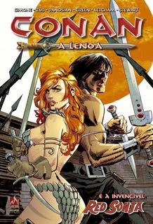 Conan A Lenda E A Invencível Red Sonja