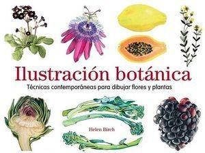 Ilustracion Botanica -tecnicas Contemporaneas Para Dibujar