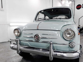 Fiat 600 D 1961 Original.impecable.sin Agregados.permuto.