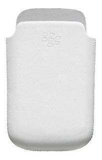 Funda Estuche Case Cuero Original Blackberry Bold 9650