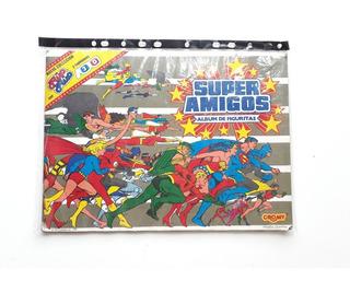 Album Super Amigos 1987 Completo Con Fluo Fluo Y 3d