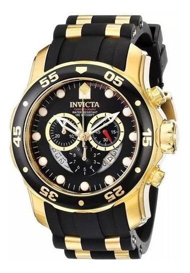Relógio Invicta Pró Driver 6981 Borracha + Maleta.
