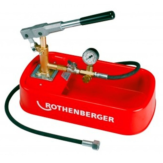 Bomba De Teste Hidrostático Rothenberger Rp30 61130 - Rp30