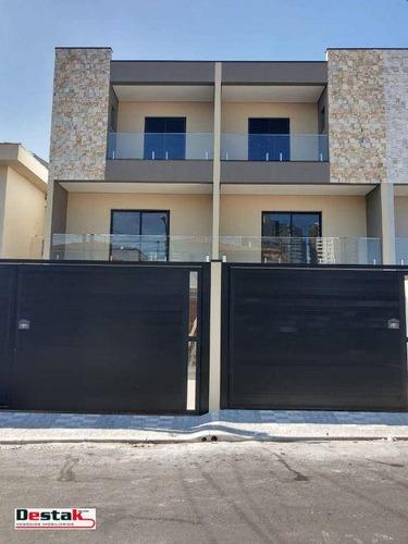 Imagem 1 de 28 de Sobrado Com 3 Dormitórios À Venda, 194 M² Por R$ 970.000,00 - Demarchi - São Bernardo Do Campo/sp - So0972