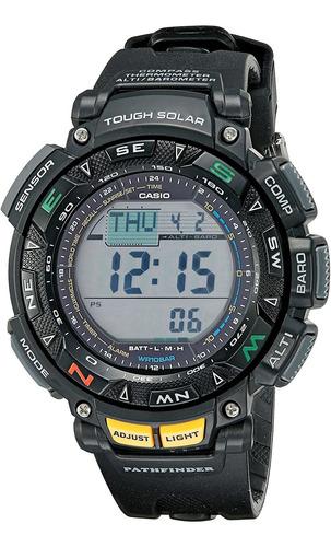 Imagen 1 de 4 de Reloj Digital Casio Pathfinder, Deportivo, Solar, 51mm