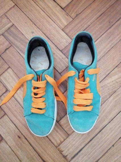 Zapatillas Puma Talle 9usa/41.5arg En Excelente Estado