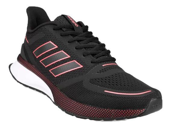 adidas Zapatillas Running Hombre Nova Run Negro - Rojo