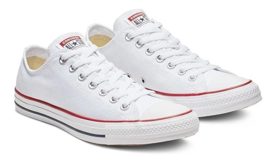 Zapatillas Converse All Star Chuck Taylor Blanca -#1 Strings