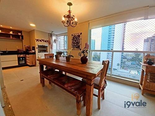 Apartamento Com 4 Dormitórios À Venda, 183 M² Em Frente A Praça - Jardim Aquarius - São José Dos Campos/sp - Ap2599