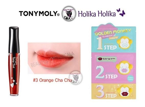 Tinta Delight + Golden Monkey: Set 1+1 Tonymoly Y Holika