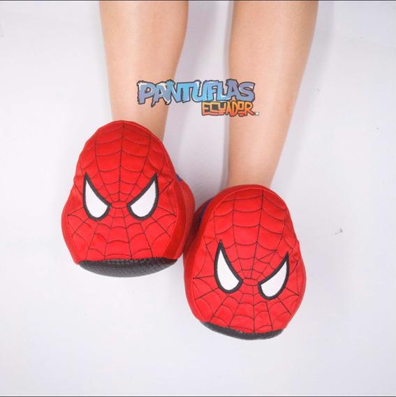 Pantuflas De Superhéroes