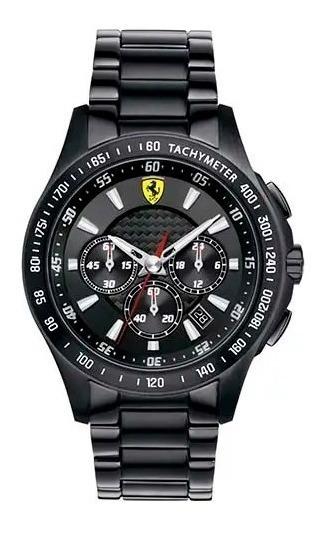 Relógio Ferrari 830046 Caixa Aço Fibra De Carbona E Cerâmica